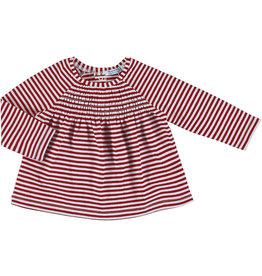 Mayoral Baby Girl LS Poppy Stripes Shirt