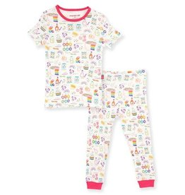 Magnetic Me Rainbow Sprinkles Organic Cotton Two Piece
