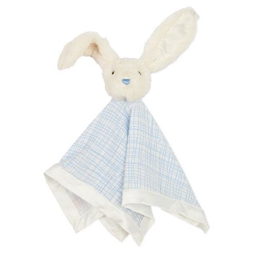 Magnetic Me Greenwich Plaid Bunny Lovey Blanket