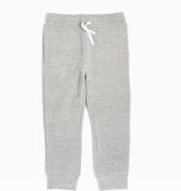 Miles Baby Basic Heather Grey Jogger - Toddler 3t