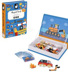 Janod Magnet Book, Racers