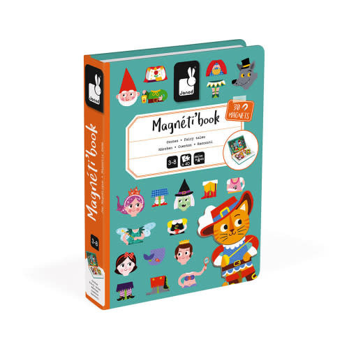 Janod Magnet Book, Fairy Tales