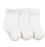 Robeez 3 Pk Socks, Herringbone Weaves