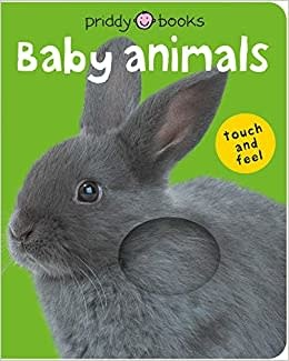 MacMillan Baby Animals Touch and Feel Board Book
