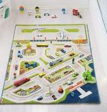 "IVI Mini City 3D Play Carpet, Medium 39"" x 59"""