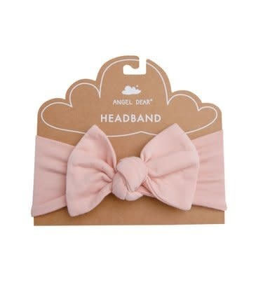 Angel Dear Modern Basics Headband Dust Pale Pink 0-12M
