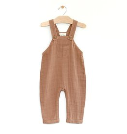City Mouse Muslin Overall Latte