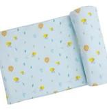 Angel Dear Little Bee Swaddle Blanket Blue