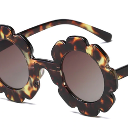 Rainbow Unicorn Birthday Surprise Flower Sunglasses - Tortoise Shell