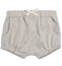 Milkbarn Kids Organic Pocket Bloomer Grey Pinstripe
