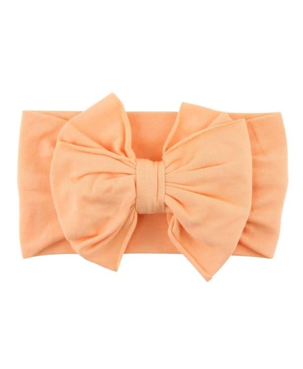 RuffleButts Melon Big Bow Headband