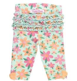 RuffleButts Spring Fling Capri Leggings