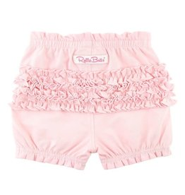 RuffleButts Pink Bubble Shorts