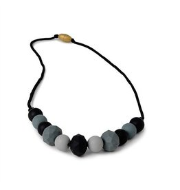 Chewbeads Chelsea Necklace, Black multi color
