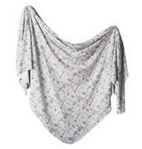 Copper Pearl Knit Blanket - Trout