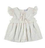 Mayoral Girls Chiffon Embroidered Top