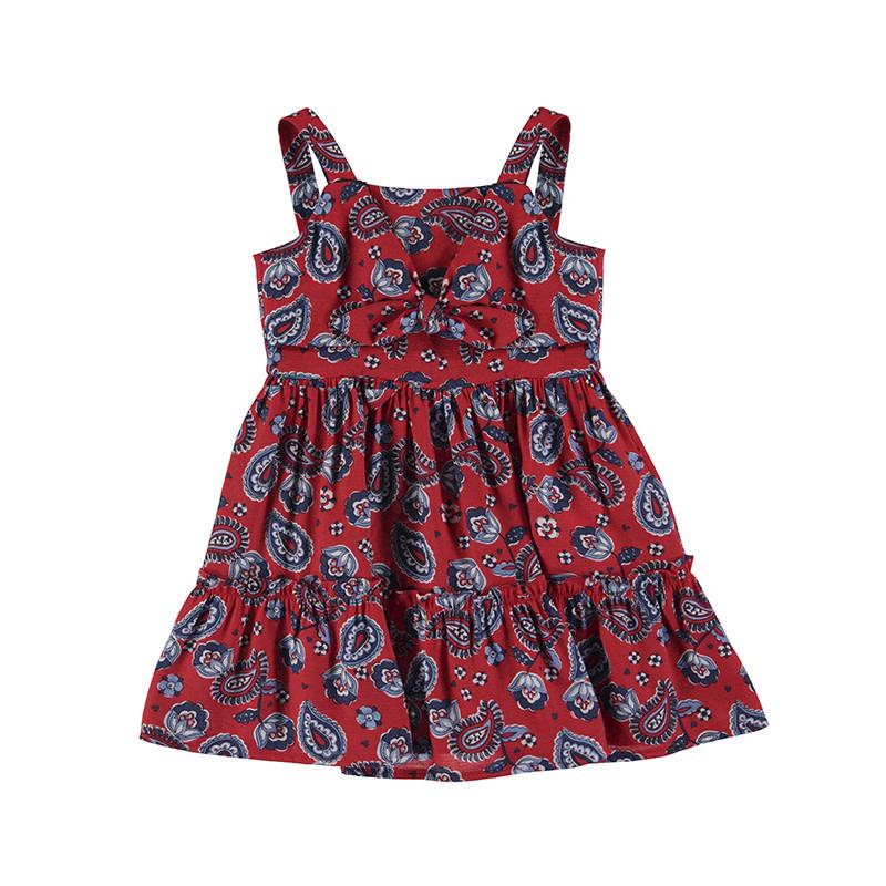 Mayoral Girl Dress Printed Poppy