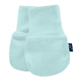 Kickee Pants Solid Newborn No-Scratch Paws (Illusion Blue - One Size)