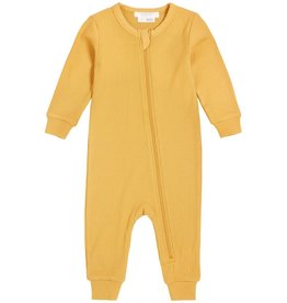 Petit Lem Baby Playsuit - Sunshine Solid Gold