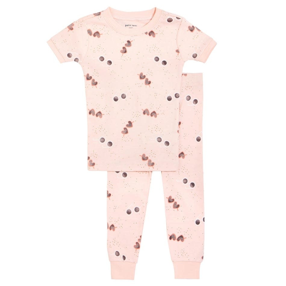 Petit Lem Girl 2 Pice Pajama Set - Sunglasses