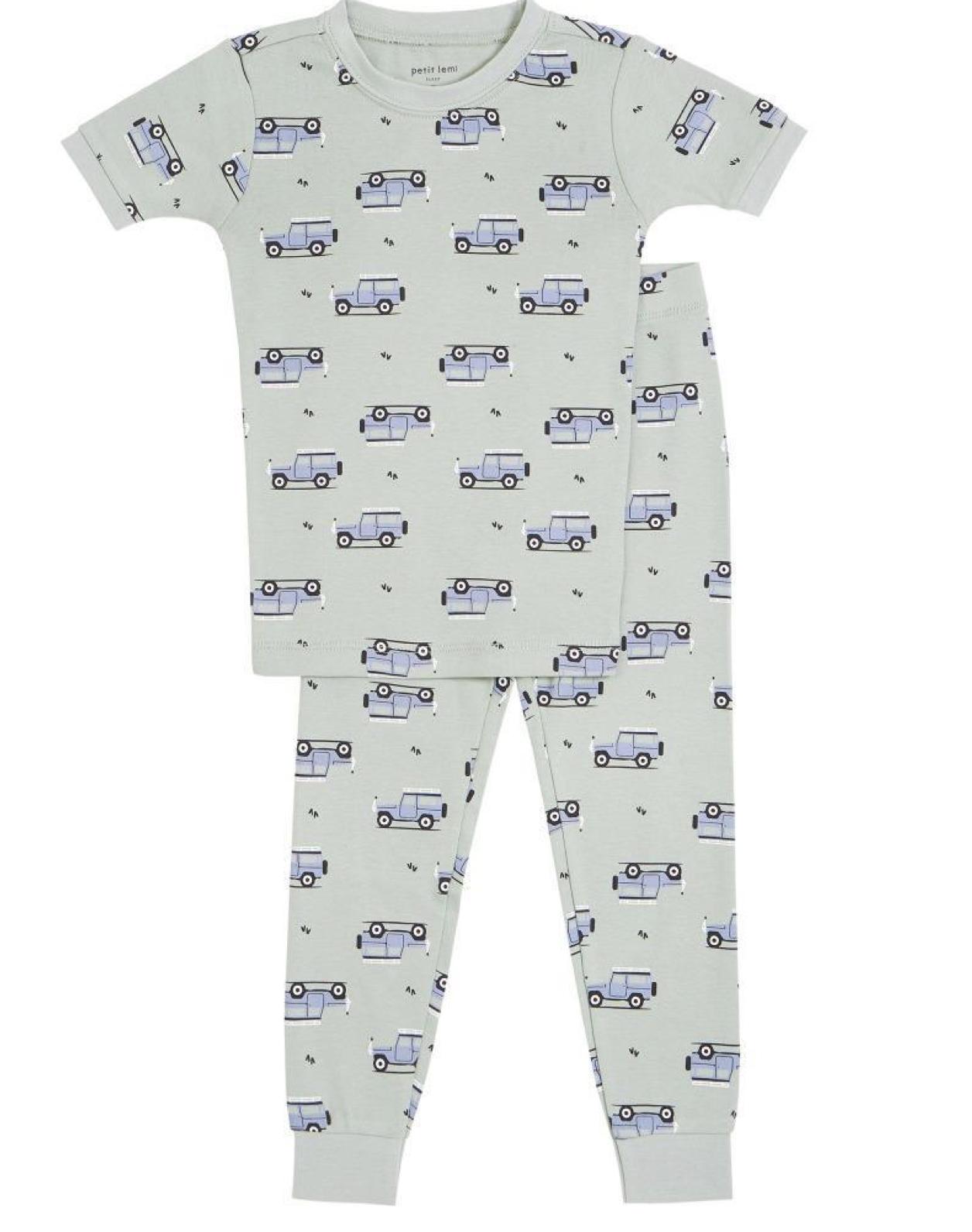 Petit Lem 2 Piece Pajama Set - Jeeps