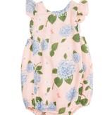 Angel Dear Hydrangea Sunsuit Pink