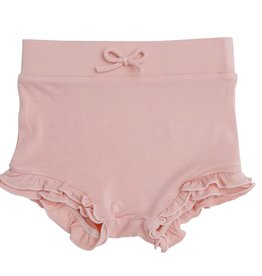 Angel Dear Modern Basics High Waist Shorts Dust Pale Pink