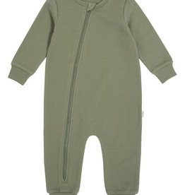 Miles Baby Baby Playsuit Knit - Khaki Green