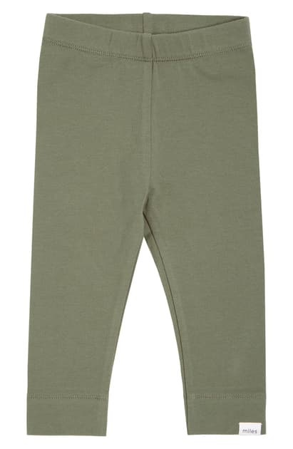 Miles Baby Girl Legging Knit - Green