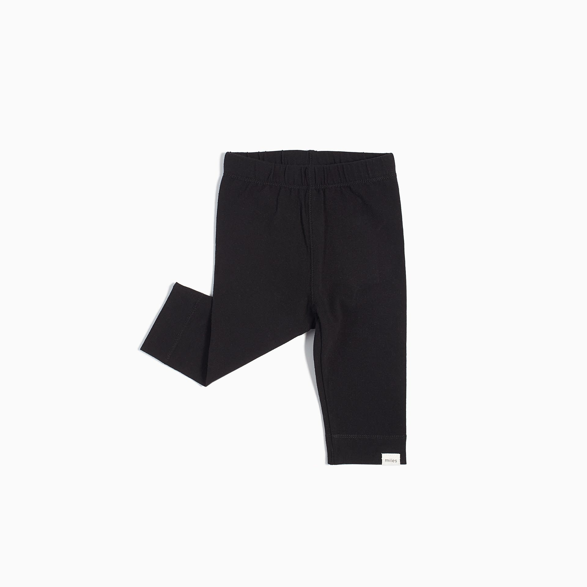 Miles Baby Girl Legging Knit - Black