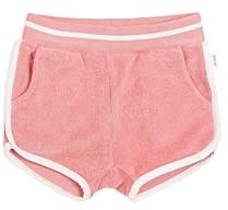 Miles Baby Baby Girl Terry Short - Coral