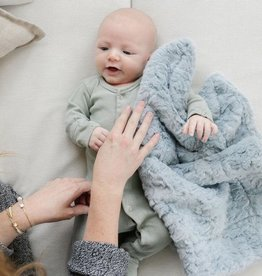 Saranoni Mini Blanket (15'' x 20'') Heather Blue Dream