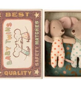 Maileg Twins, Baby mice in matchbox