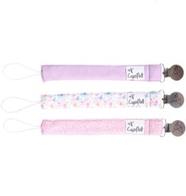 Copper Pearl Binky Clip Set - Bloom