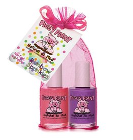 Piggy Paint Set, Rainbow Sprinkles Polish (2 pack)