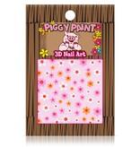 Piggy Paint Flower Nail Art