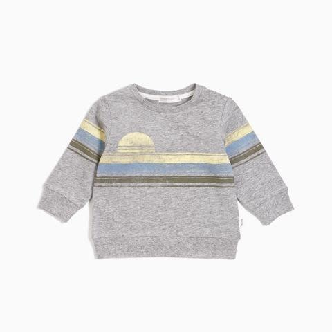 Miles Baby Baby Sweatshirt - Gray