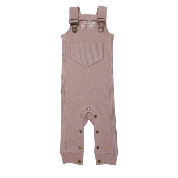 Loved Baby Footless Ribbed Overall in Thistle