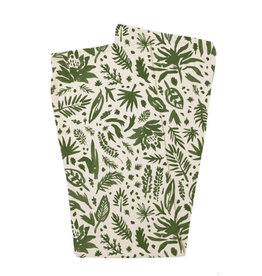Loved Baby Organic Swaddling Blanket, Print Size One Size in Get Clover It! (Beige)