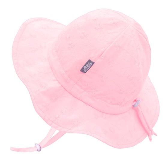 Jan & Jul Cotton Floppy Sun Hat - Pink Daisy