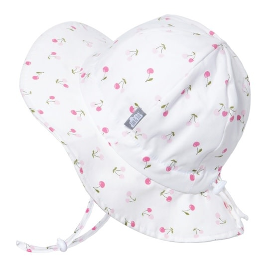 Jan & Jul Cotton Floppy Sun Hat - Cherry M 6-24M