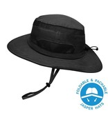 Jan & Jul Junior Jasper Hat - Black XL 5-12Y