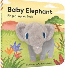 Chronicle Books Finger Puppet Book: Baby Elephant