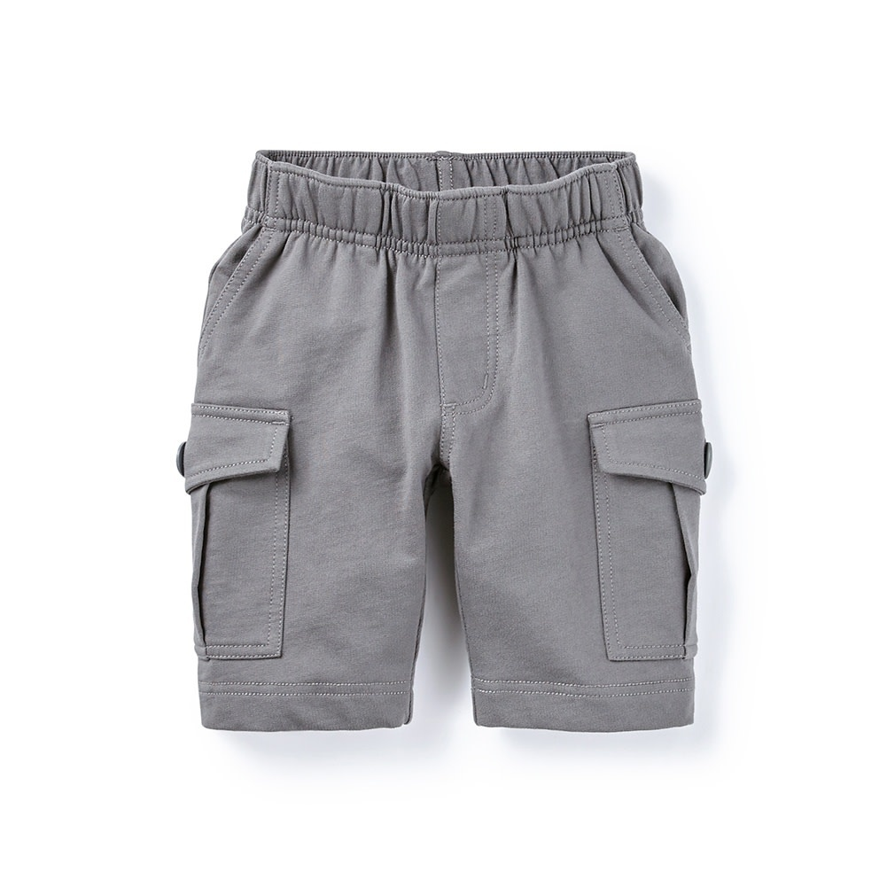 Tea Collection French Terry Cargo Shorts - Thunder