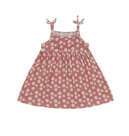 Emerson and Friends Bamboo Baby Sundress Rose Daisy