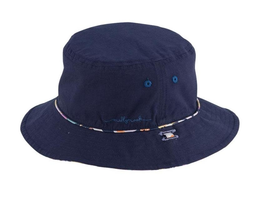 Millymook and Dozer Girls Bucket Hat - Bianca w/ Navy
