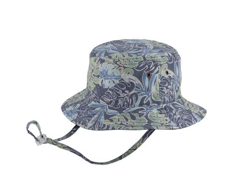 Millymook and Dozer Boys Bucket Sun Hat - Karter/Navy