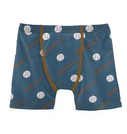 Kickee Pants Print Boxer Brief Deep Sea Baseball