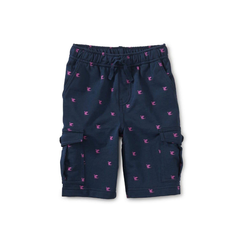 Tea Collection Cargo Shorts - Tiny Dragon Size 6