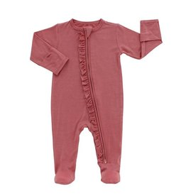 Emerson and Friends Bamboo Footies - Rose
